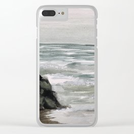 Avon-by-the-Sea Clear iPhone Case