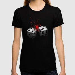 Lucky 7-Dice roll-Seven deadly sins-Gambling T-shirt