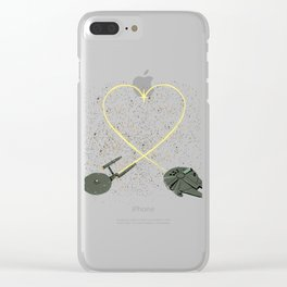 Wars Love Clear iPhone Case