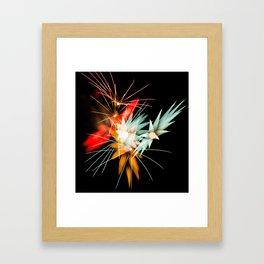 Geometric Firework 11 Framed Art Print
