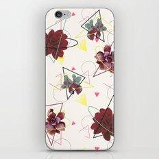 Spatial Succulents #redbubble #decor #buyart iPhone Skin