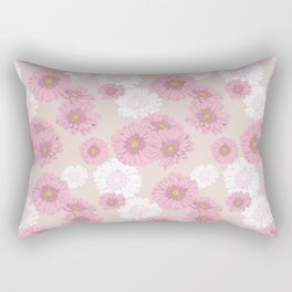 Gerbera daisies in pink Rectangular Pillow