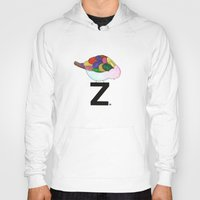"dragonball z Hoodies featuring ""z?"" by deolinda"