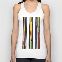 subway Tank Tops featuring Subway by Myles Hunt