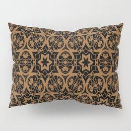 Black and Bronze Oils 2675 Pillow Sham