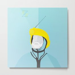 Zissou - The Life Aquatic Metal Print