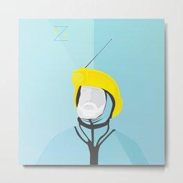 Zissou - The Life Aquatic Metal Print