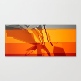 Abstract Glitch 02 Canvas Print
