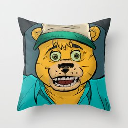Danger-Squad Homecoming Throw Pillow