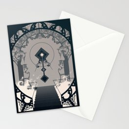 Cathedral (White Fire) Stationery Cards