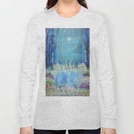 Nightfall at the pond Long Sleeve T-shirt
