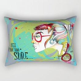 Rainbow Baguette Rectangular Pillow