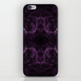 Purple Might iPhone Skin
