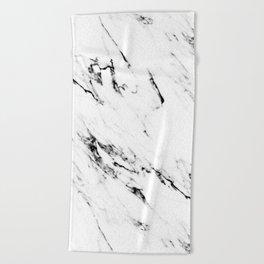 Classic Marble Beach Towel