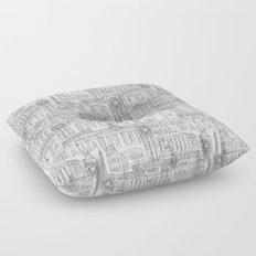EUROPE LANDMARK PATTERN Floor Pillow