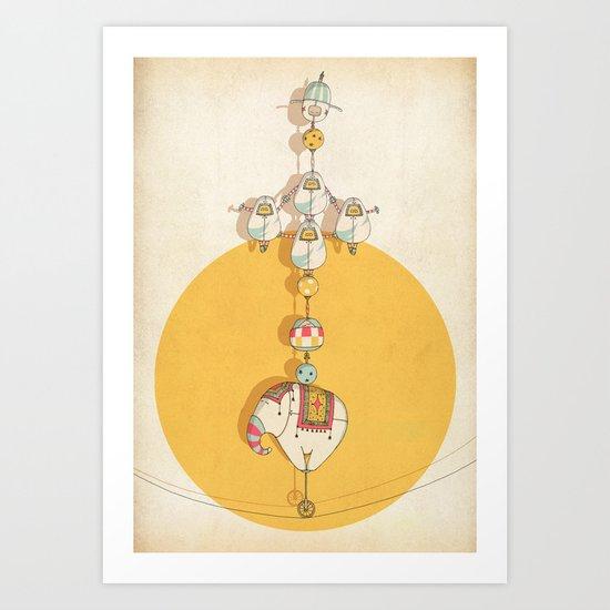 circus 001 Art Print