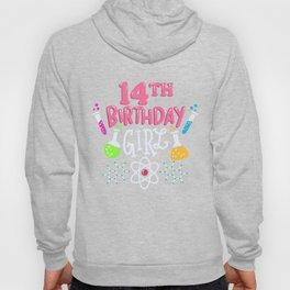 14th Birthday Girl Hoody