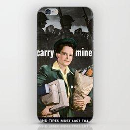 I'LL Carry Mine Too iPhone Skin