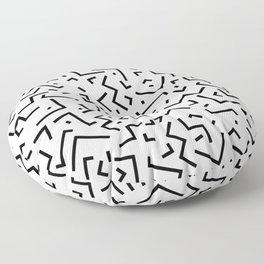 Memphis pattern 30 Floor Pillow