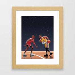 23 v 23 Framed Art Print