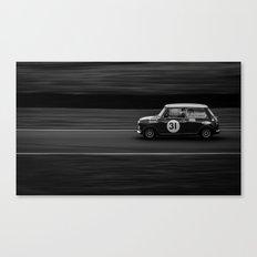 Mini Attack Canvas Print