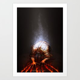 Fumes Art Print