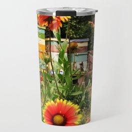 Bee Sanctuary Garden Travel Mug