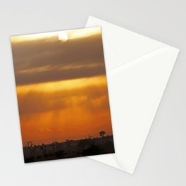 Vastnesses of Africa - Morning time Stationery Cards
