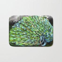 Peacock Alive! Bath Mat