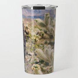 Joshua Tree Cactus Garden Travel Mug