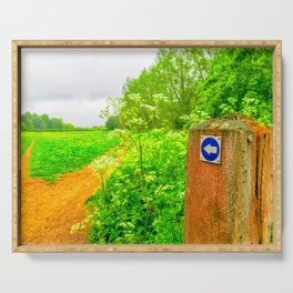Countryside Walk Serving Tray