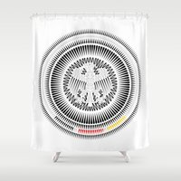 germany Shower Curtains featuring Germany Crest by George Williams