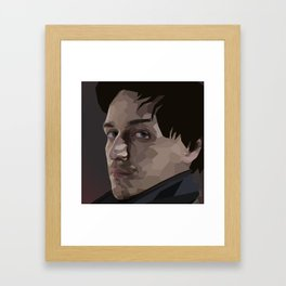 Why? For The Glory of James McAvoy Of Course! Framed Art Print