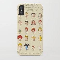 The Marvelous Cartoon Wigs Museum Slim Case iPhone X