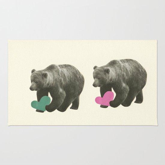A Bear Romance Rug