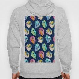 Colorful diamonds Pattern Hoody