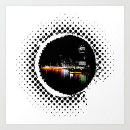 Brisbane City Art Print