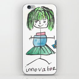 140812 Experiment Girl Power #7 iPhone Skin