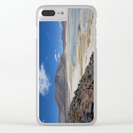 Atacama Salt Lake Clear iPhone Case