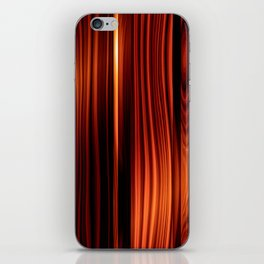 colorful wood texture varnished wood                                    iPhone Skin