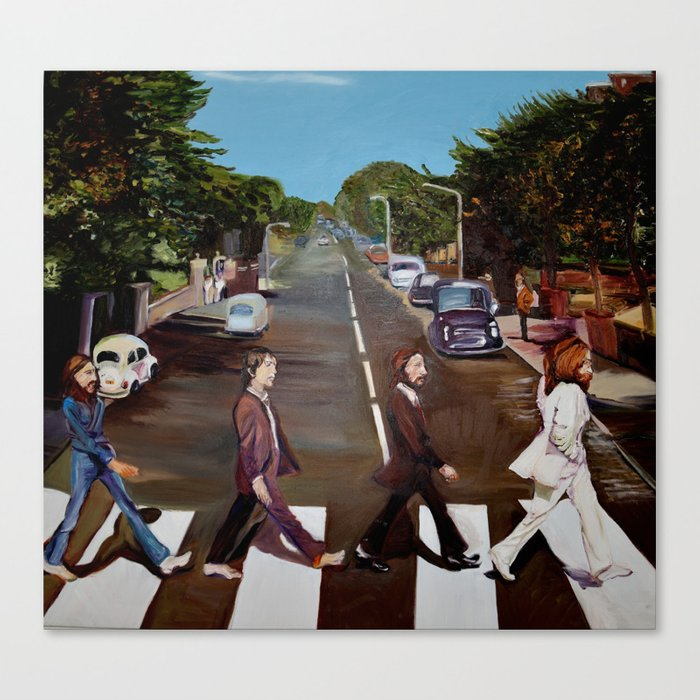 Abbey Road Canvas Print By Samanthasager