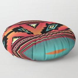 Navajo Canyon  Floor Pillow