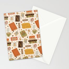 Cozy Reading Time Stationery Cards