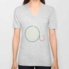 Cycling Forever | Penny Farthing High Wheel Unisex V-Neck