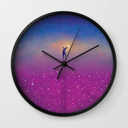 One Stars Wall Clock