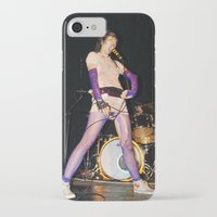 karen hallion iPhone & iPod Cases featuring Yeah Yeah Yeahs ( Karen O ) by Ferdinand Bardamu