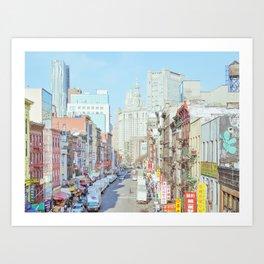 Chinatown - New York Travel Photography Art Print