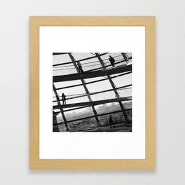 Bundestag [III] Framed Art Print
