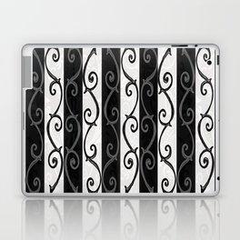 Burtonesque Stripes and Swirls.. Laptop & iPad Skin