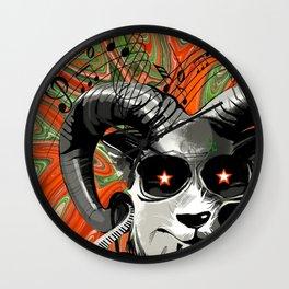 DJ Horn Gazer Wall Clock